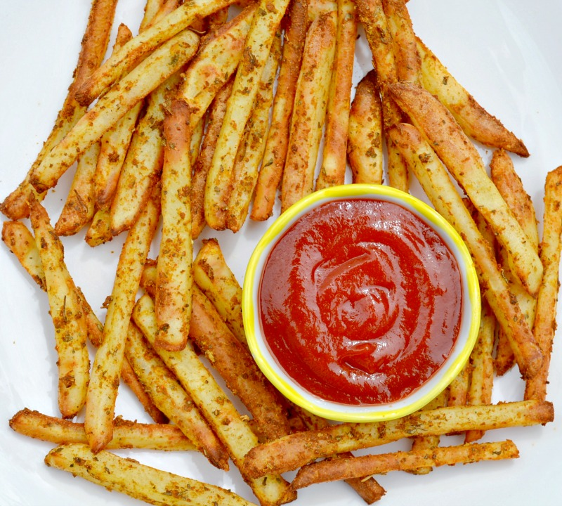 the fries. We prefer to cut them in a shoestring style french fry ...