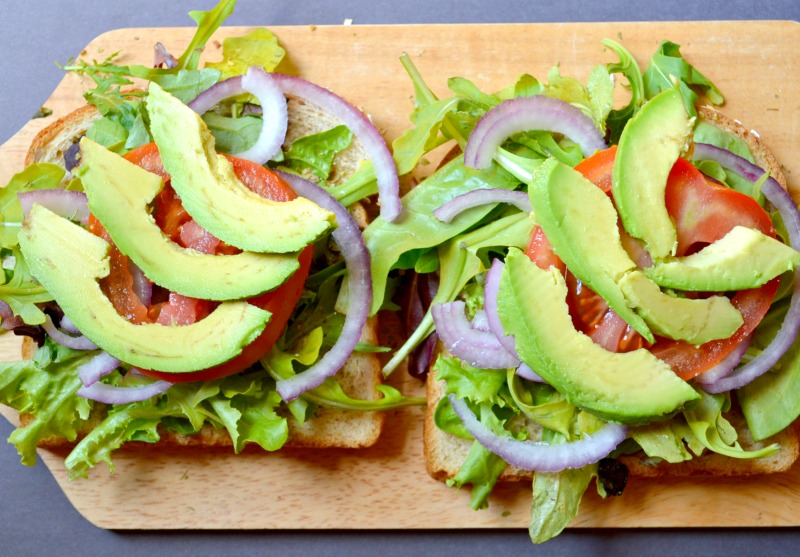 The Ultimate Veggie Sandwich – Miss Frugal Mommy