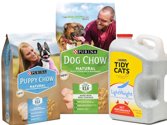 Great Offers On Tidy Cat Litter & Dog Chow Natural Products