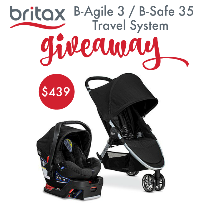 Britax 2016 B-Agile 3/B-Safe 35 Travel System Giveaway