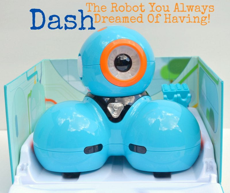 Dash Is The Robot You Always Dreamed Of Having!