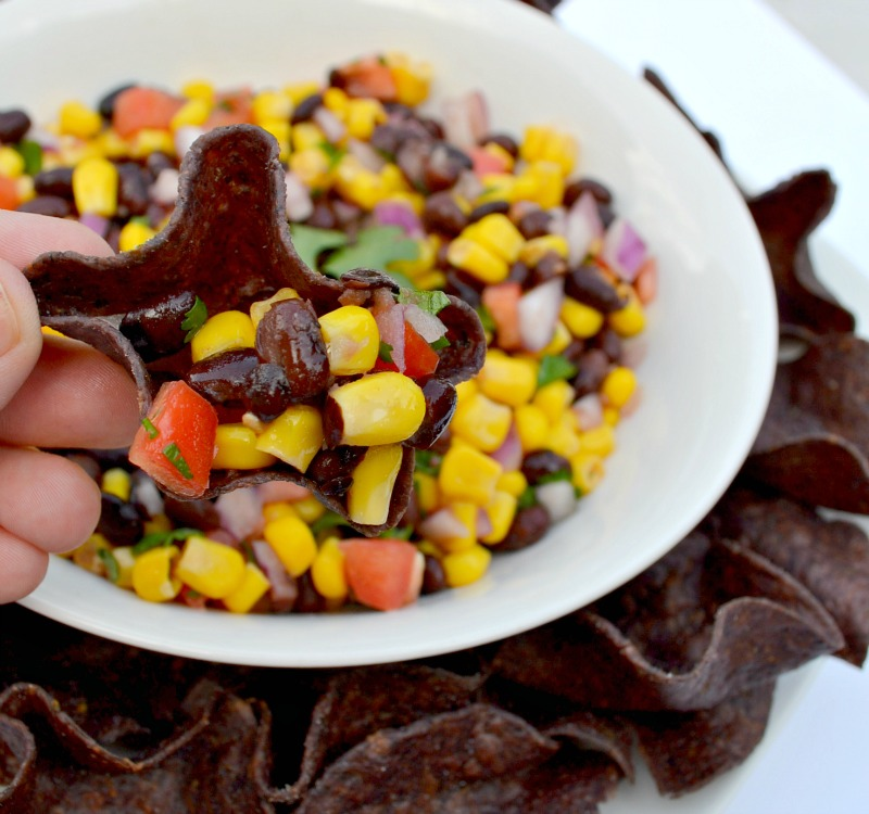 Easy Corn & Black Bean Salsa