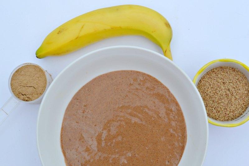 3 Ingredient Vegan Chocolate Protein Pancakes