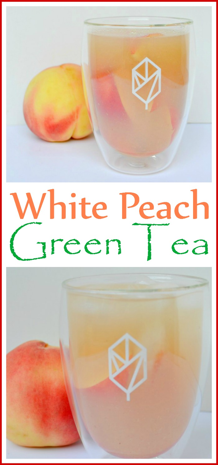 Easy White Peach Green Tea