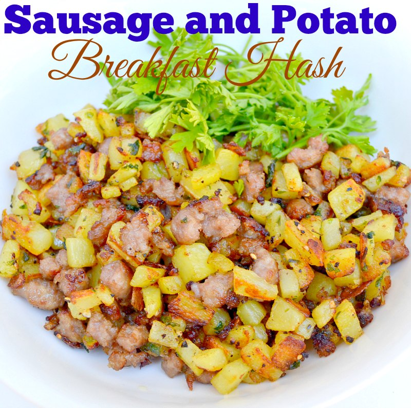 Sausage and Potato Breakfast Hash