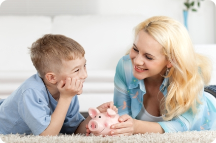 3 Tips For Showing Your Kids How To Save Money