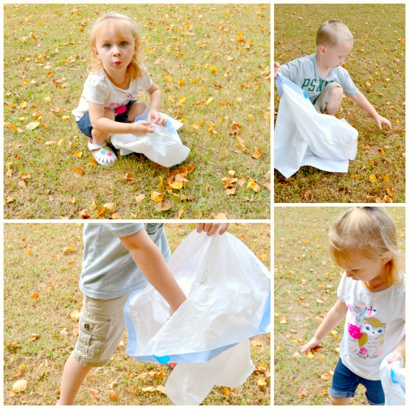 Fall Clean Up: Turning Chores Into a Game