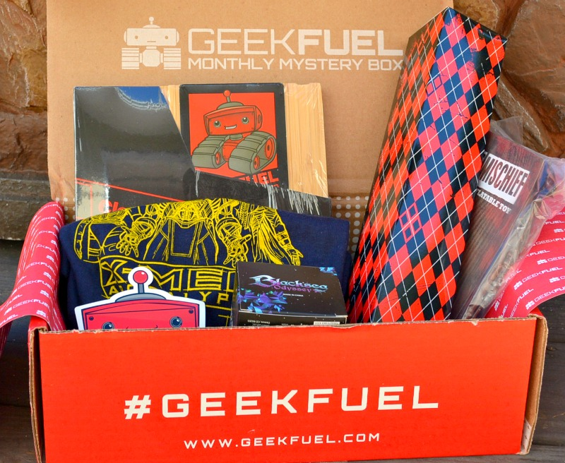 A Monthly Mystery Box Of Geeky Goodness!