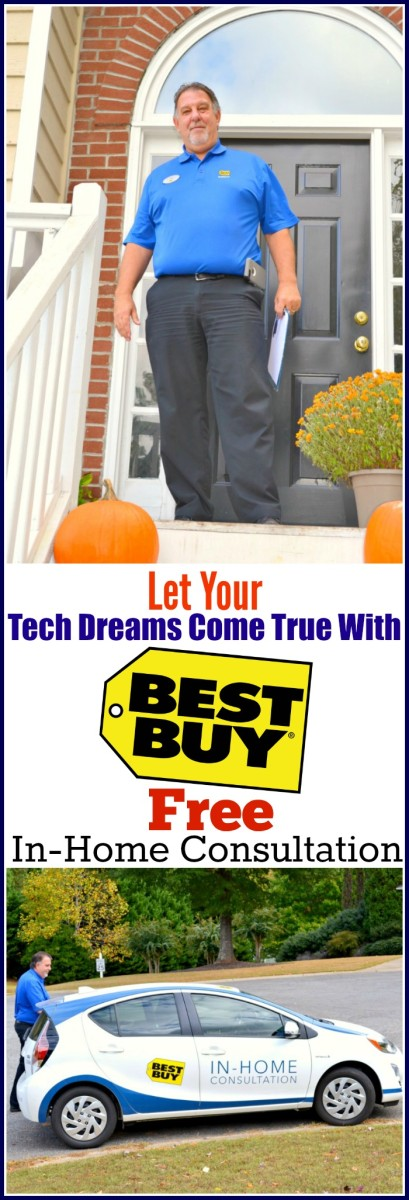 Let Your Tech Dreams Come True With Best Buy's Free In-Home Consultation