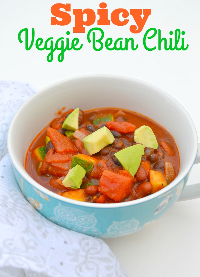 Spicy Veggie Bean Chili
