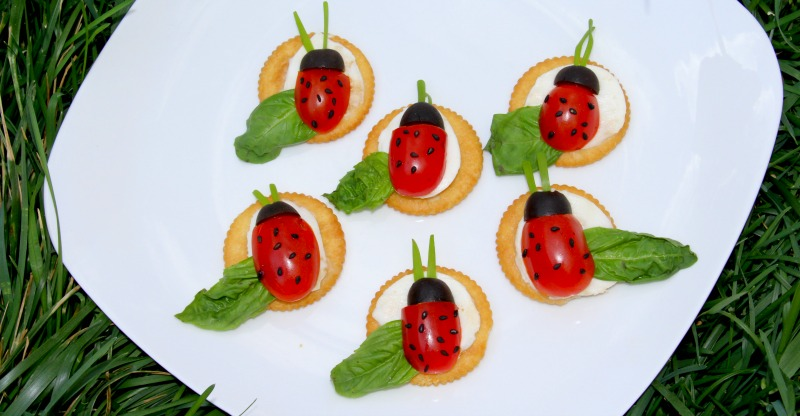 Caprese Ladybugs Recipe