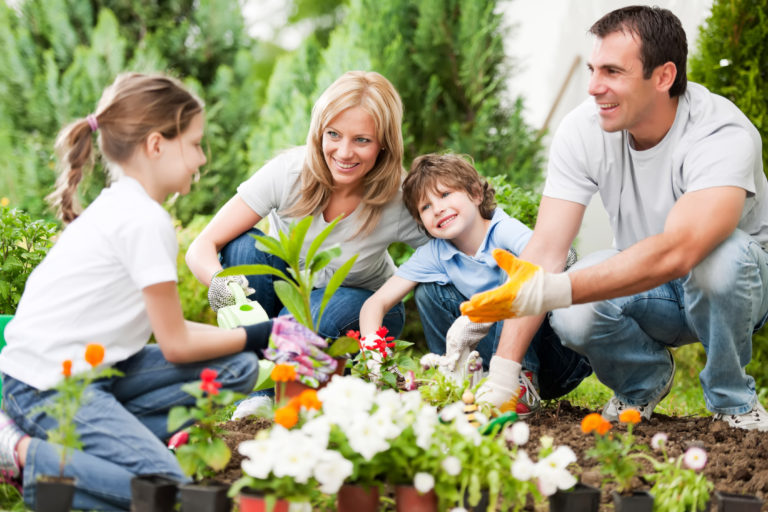 How To Create A Stylish Family Garden