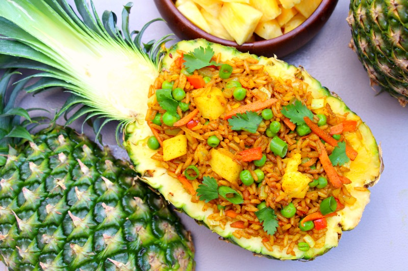 Thai Pineapple Fried Rice Recipe