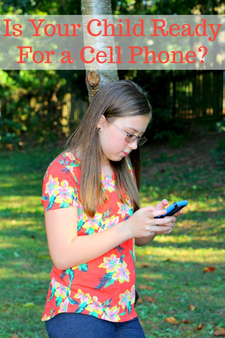 Is Your Child Ready For a Cell Phone? How Verizon Family Tech Initiative Can Help With Your Decision!