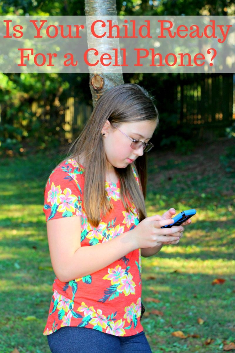 Is Your Child Ready For a Cell Phone?