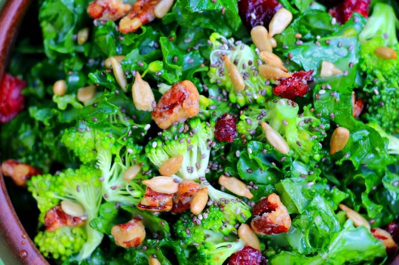 Simple Superfood Kale Salad