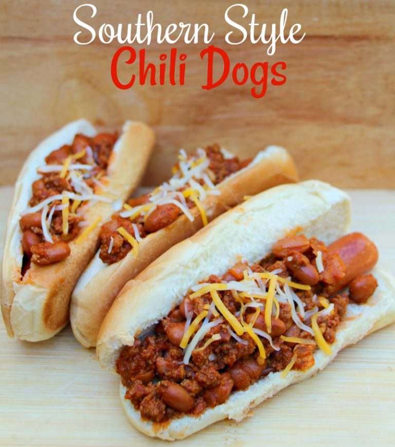 Southern Style Chili Dogs