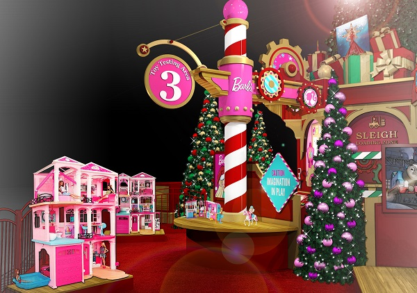 Discover a New Holiday Adventure At Santa's Toy Factory in the North Point Mall