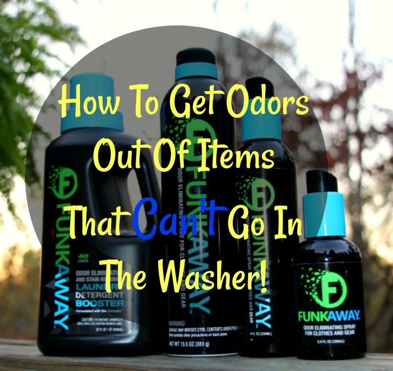How To Get Odors Out Of Items That Can't Go In The Washer!