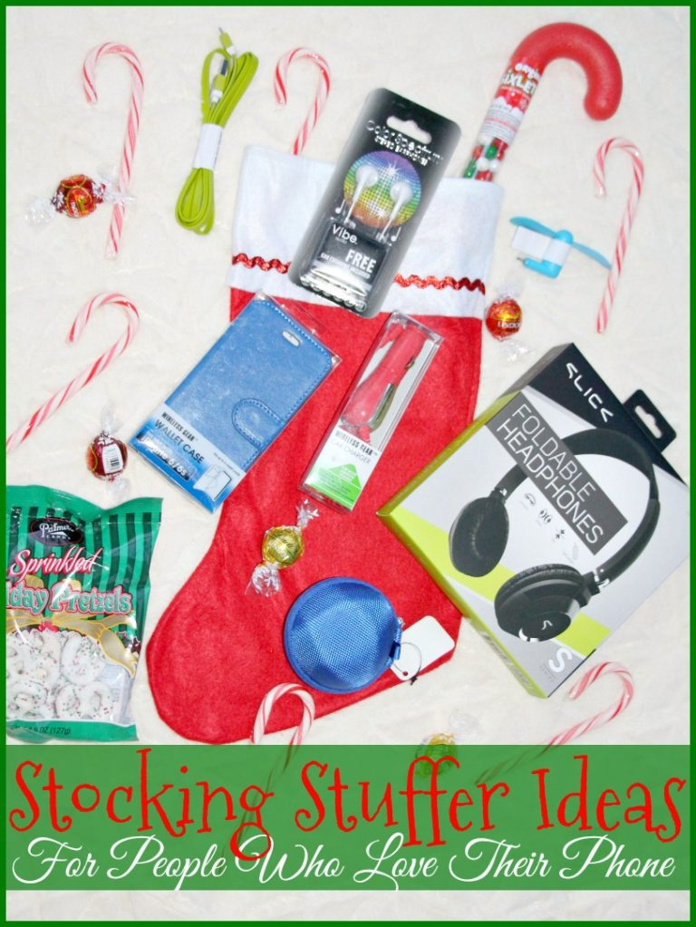 Stocking Stuffer Ideas For People Who Love Their Phone
