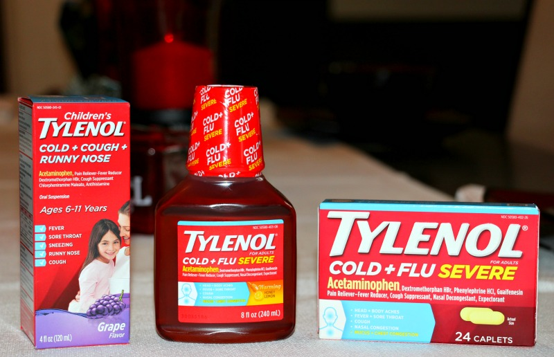 The Perfect Cold & Flu Sick Kit For Families