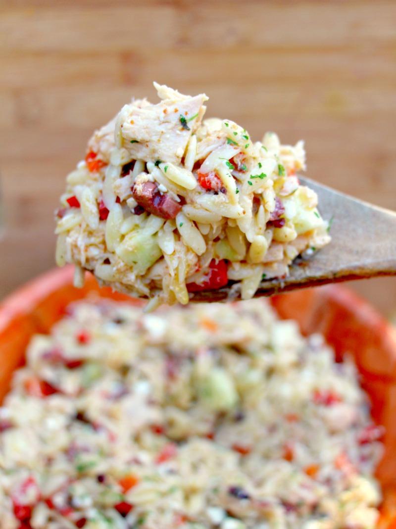 Mediterranean Tuna Orzo Salad