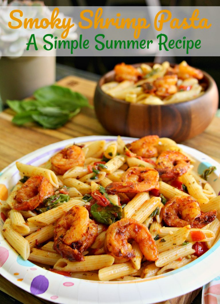 Smoky Shrimp Pasta: Easy Summer Recipe!