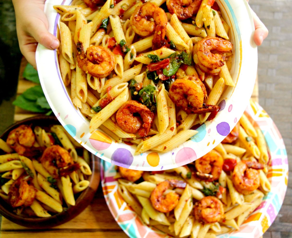 Smoky Shrimp Pasta: Easy Summer Recipe!