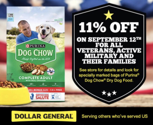 Exclusive Savings Available At Dollar General For Purina Dog Chow!