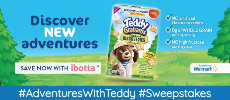 Teddy Graham Outdoor Discoveries Sweepstakes