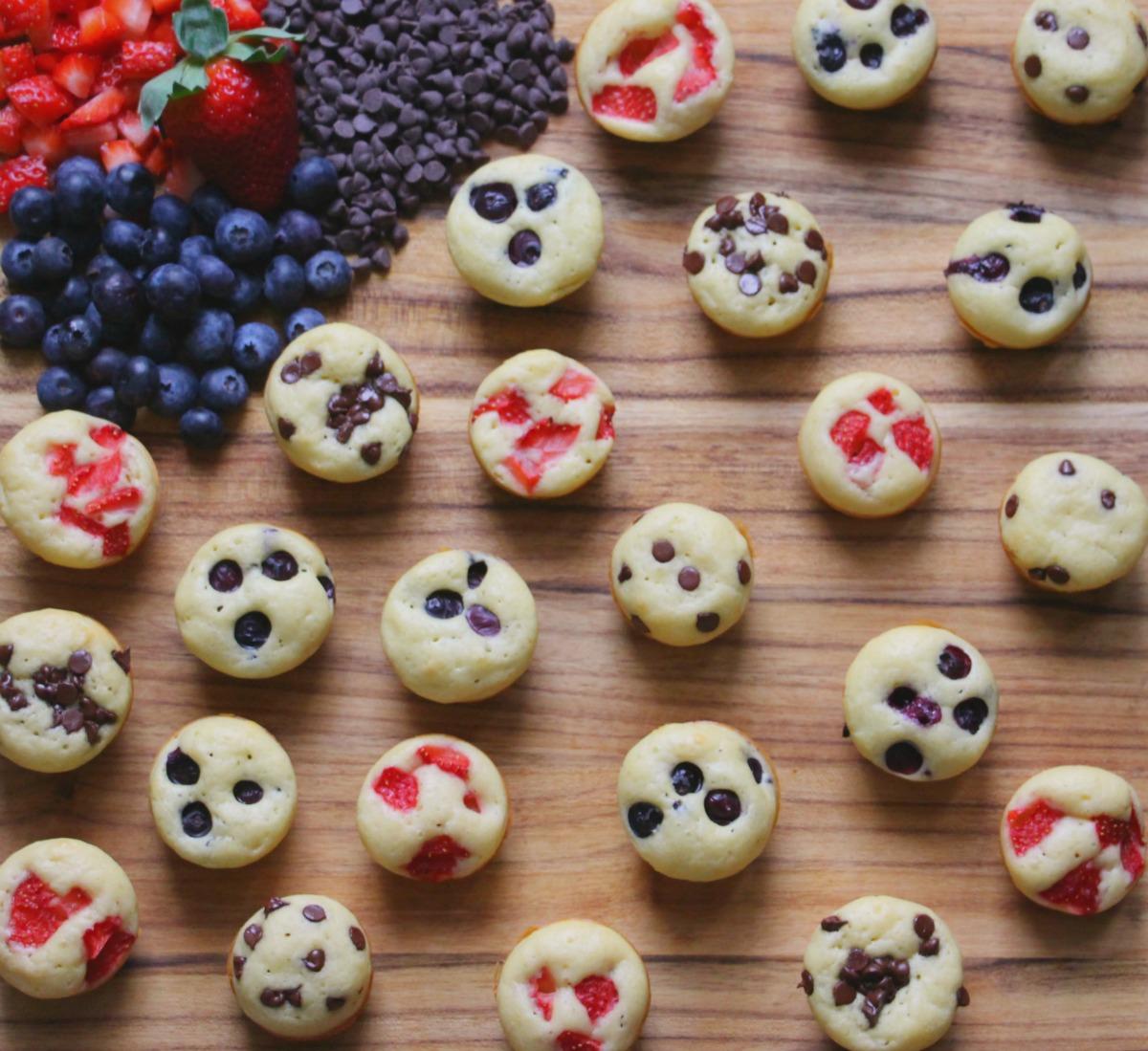 Mini Muffin Pancake Bites