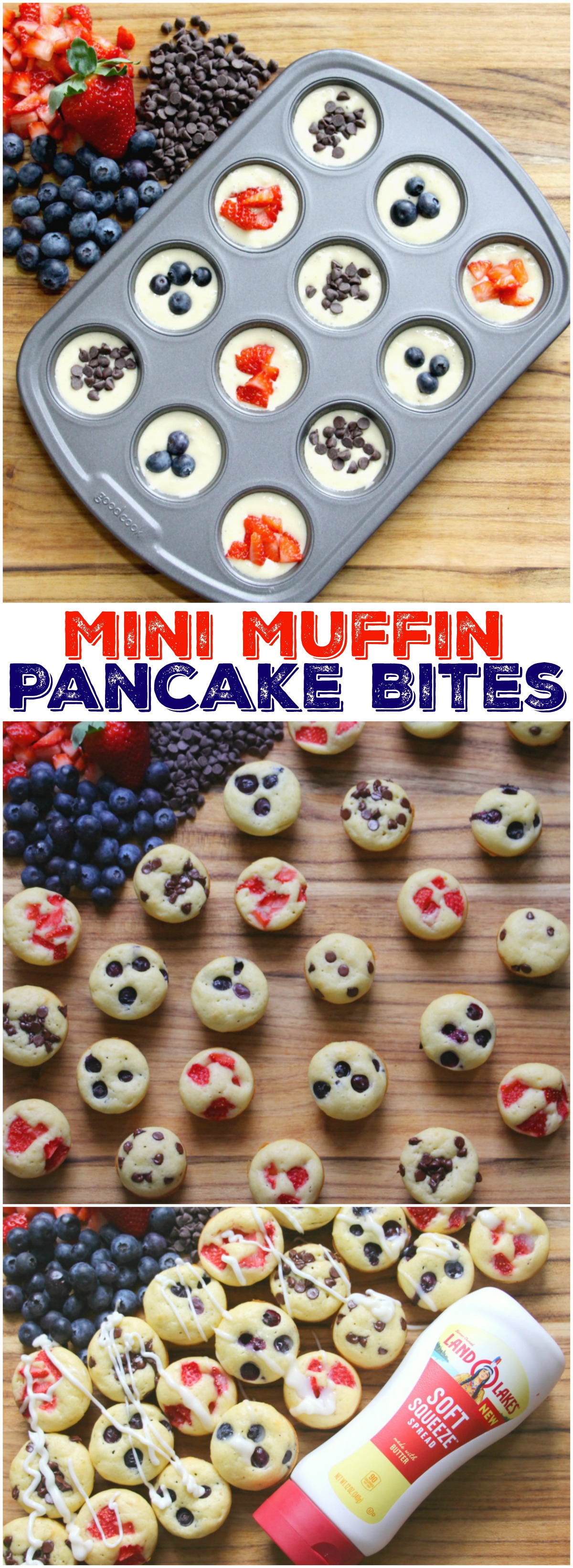 Mini Muffin Pancake Bites