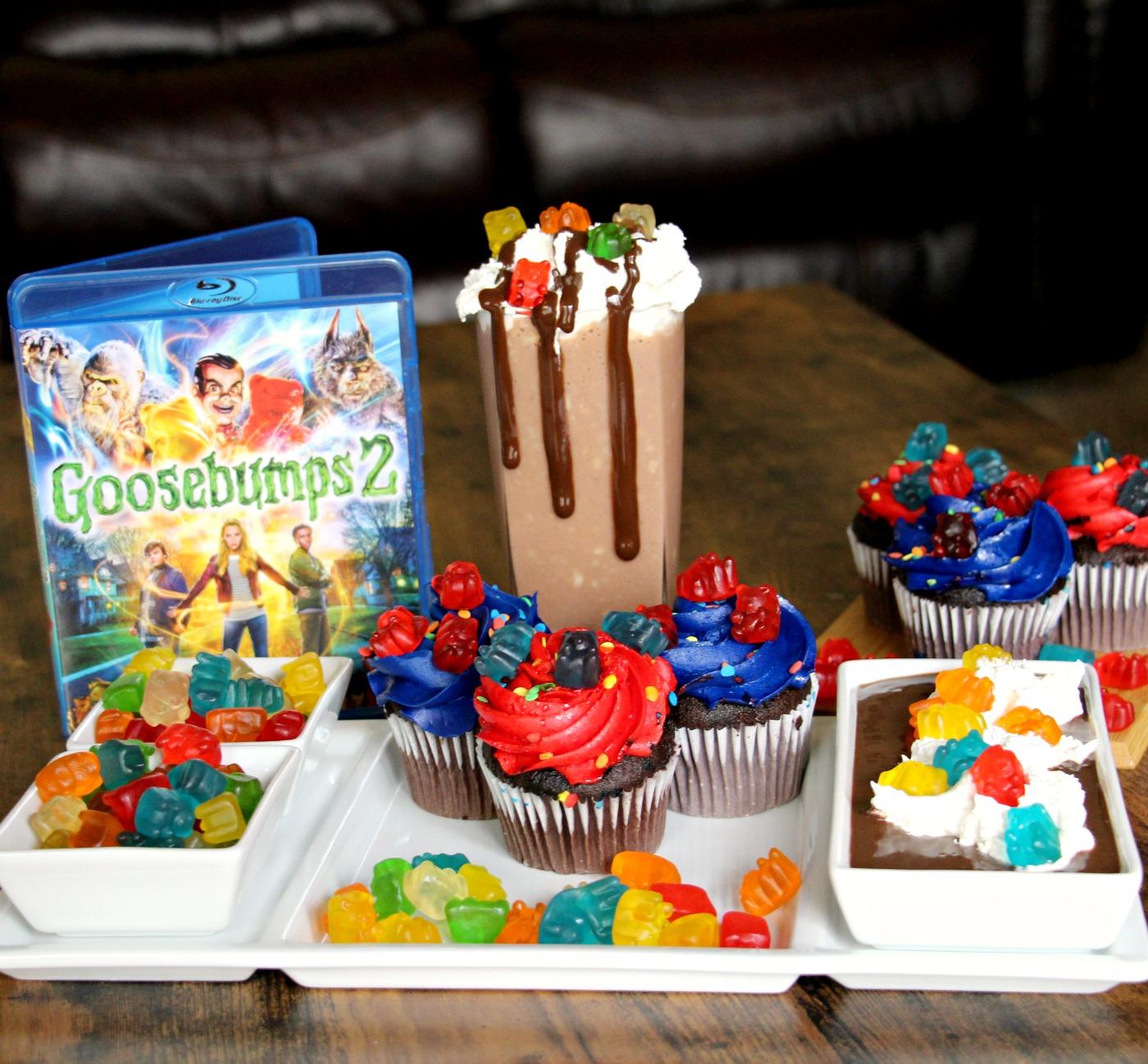 Celebrating Goosebumps 2 With Gummy Bear Snacks