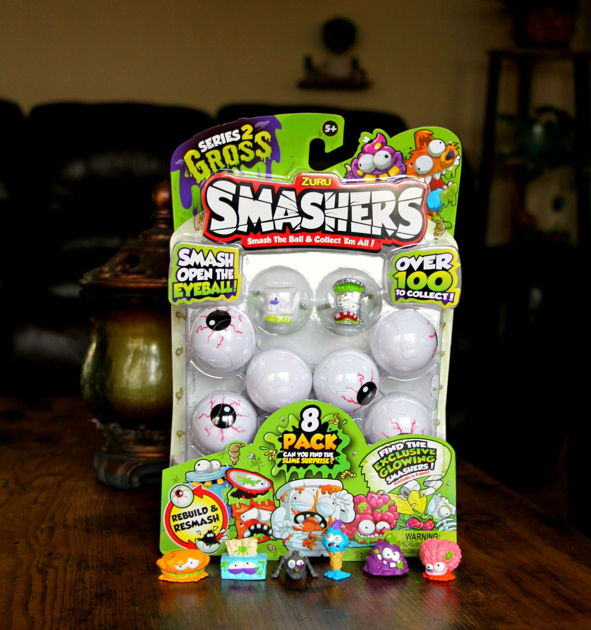 Smashers Series 2 Gross Unboxing