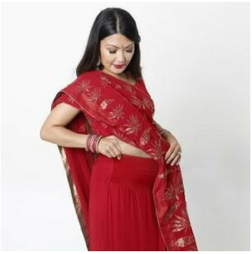 6 tips of wearing a saree during pregnancy