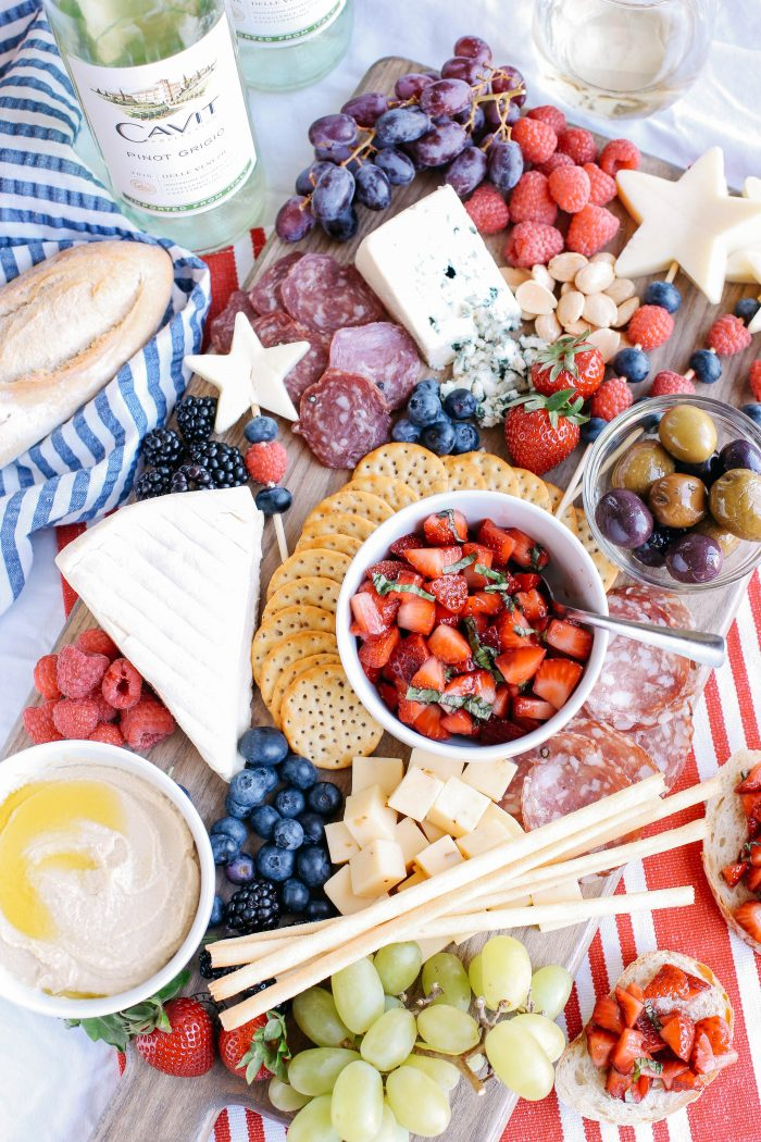 The Ultimate Patriotic Cheeseboard