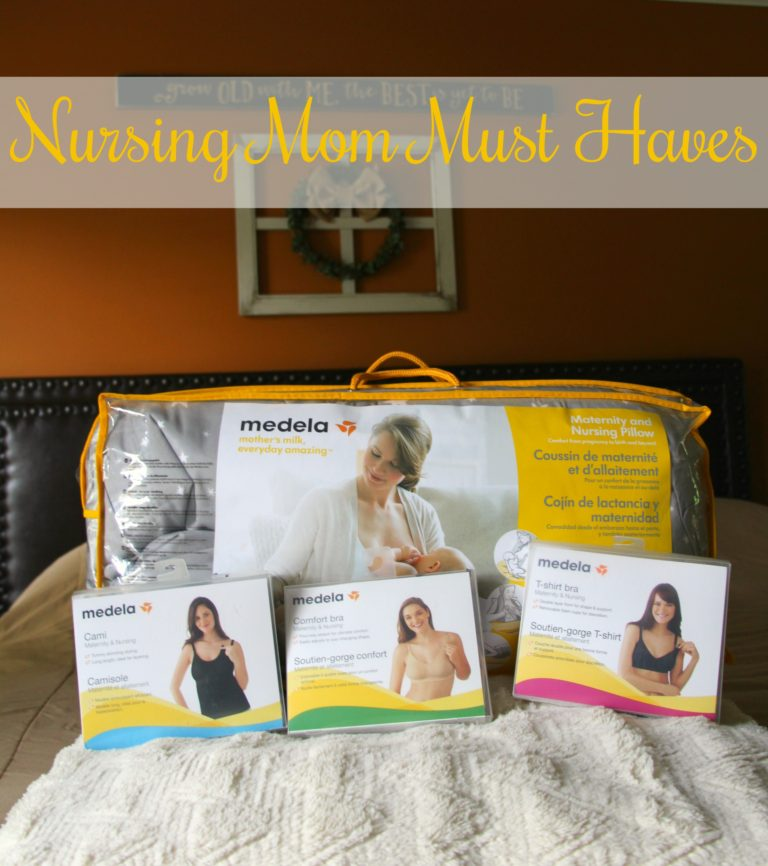 Nursing Mom Must Haves