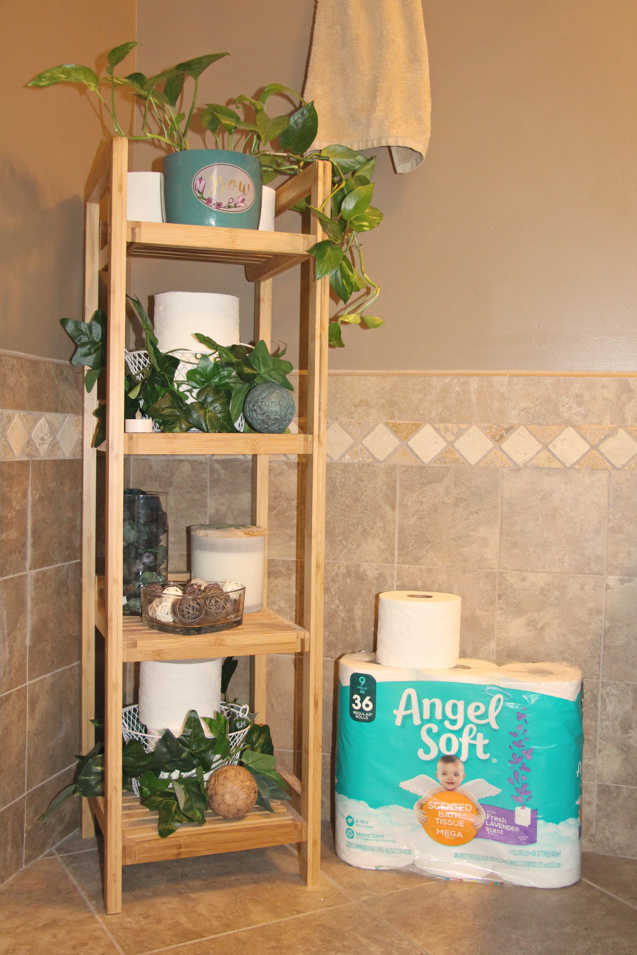 Simple & Budget Friendly Bathroom Organization Makeover