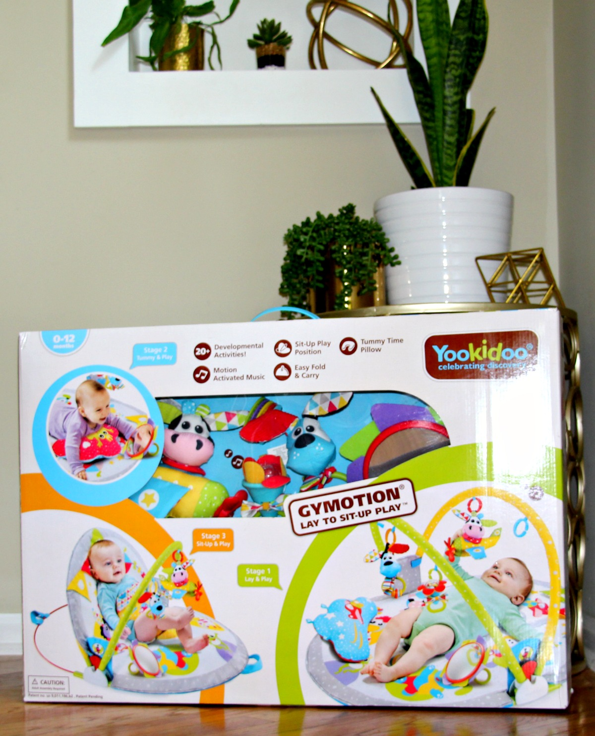 Yookidoo Gymotion Lay to Sit-Up Play Mat