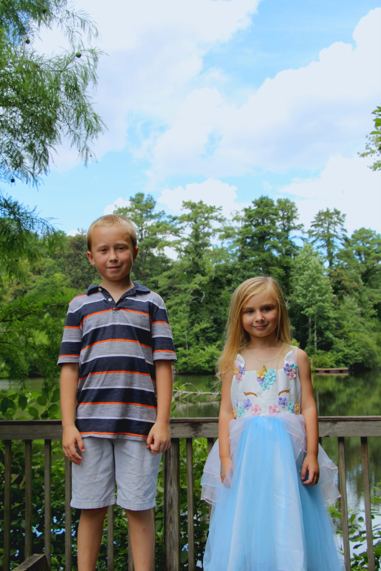 Celebrating Addie's 5th Birthday At The Chattahoochee Nature Center