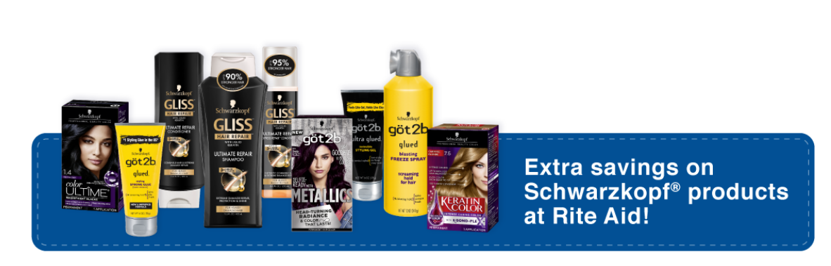 Save On Schwarzkopf Beauty At Rite Aid!