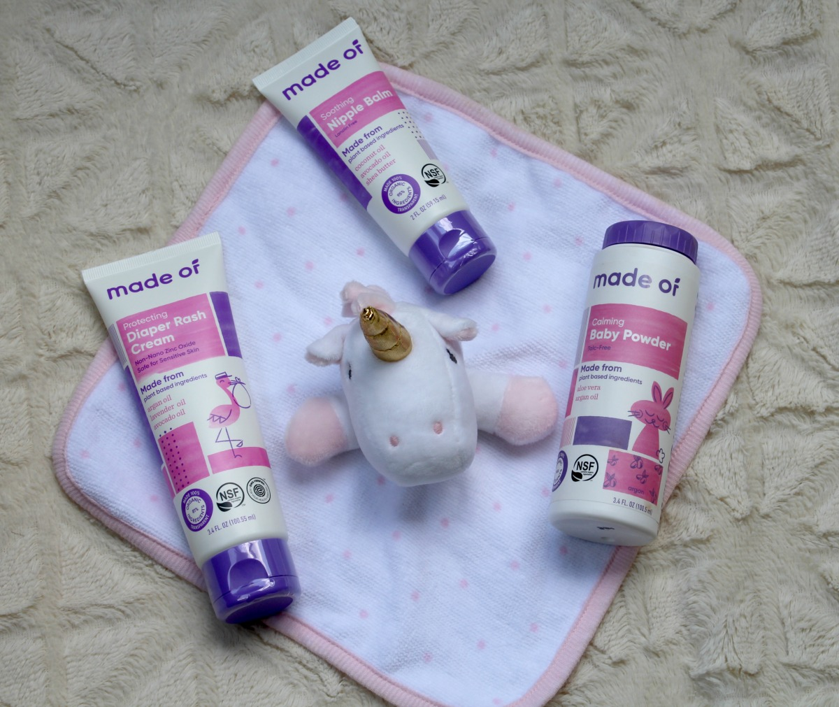 The Safest & Most Transparent Baby Skincare & Diapering!