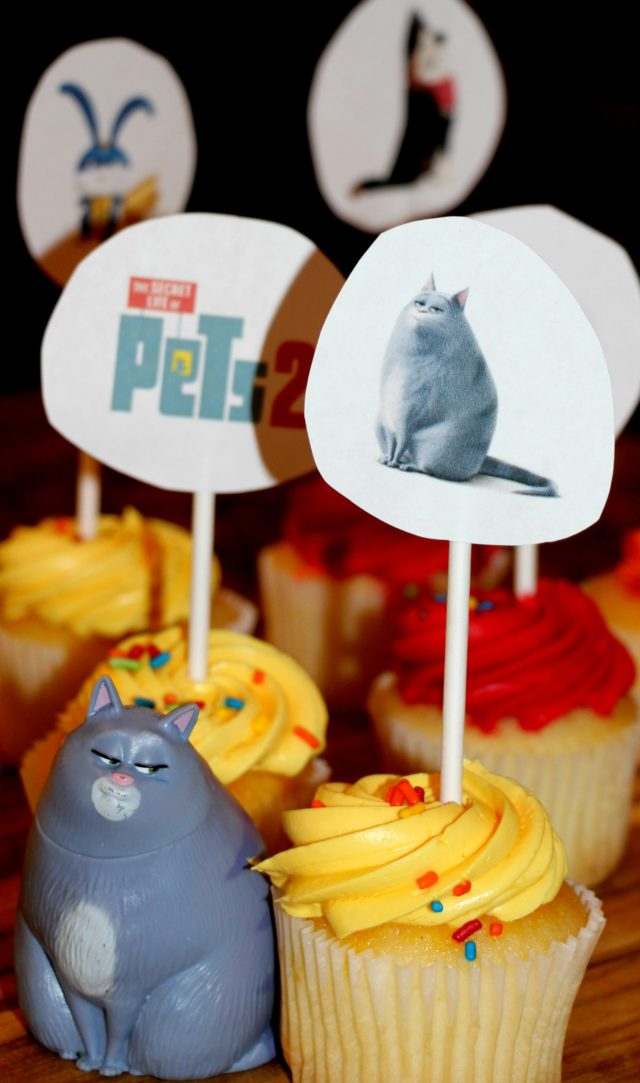 The Secret Life Of Pets 2 Cupcake Toppers (FREE PRINTABLE INCLUDED)