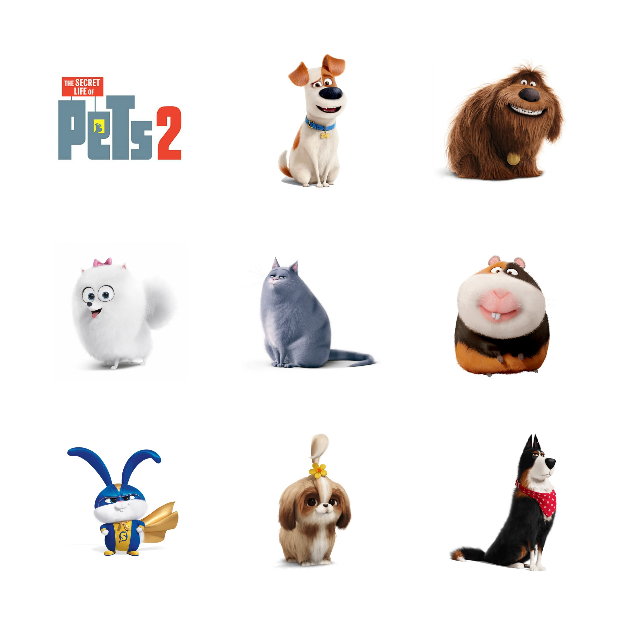 Secret Life Of Pets 2 Printable