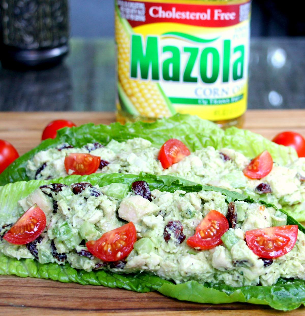 Healthy Chicken Salad With Homemade Avocado Mayo