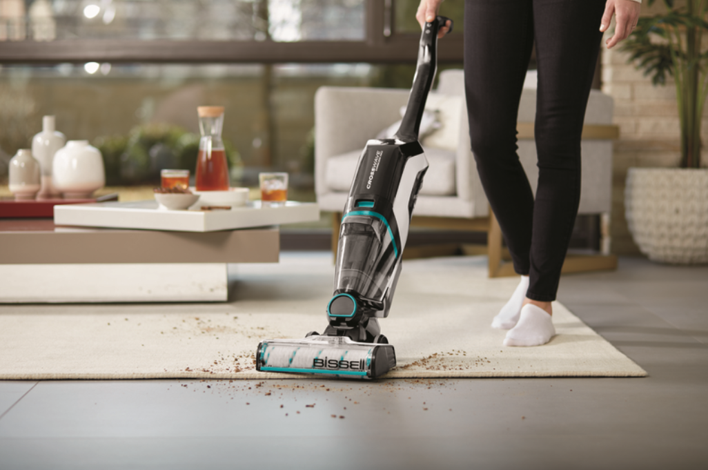 The New BISSELL CrossWave Cordless Max Vacuums & Washes Your Floors At The SAME Time