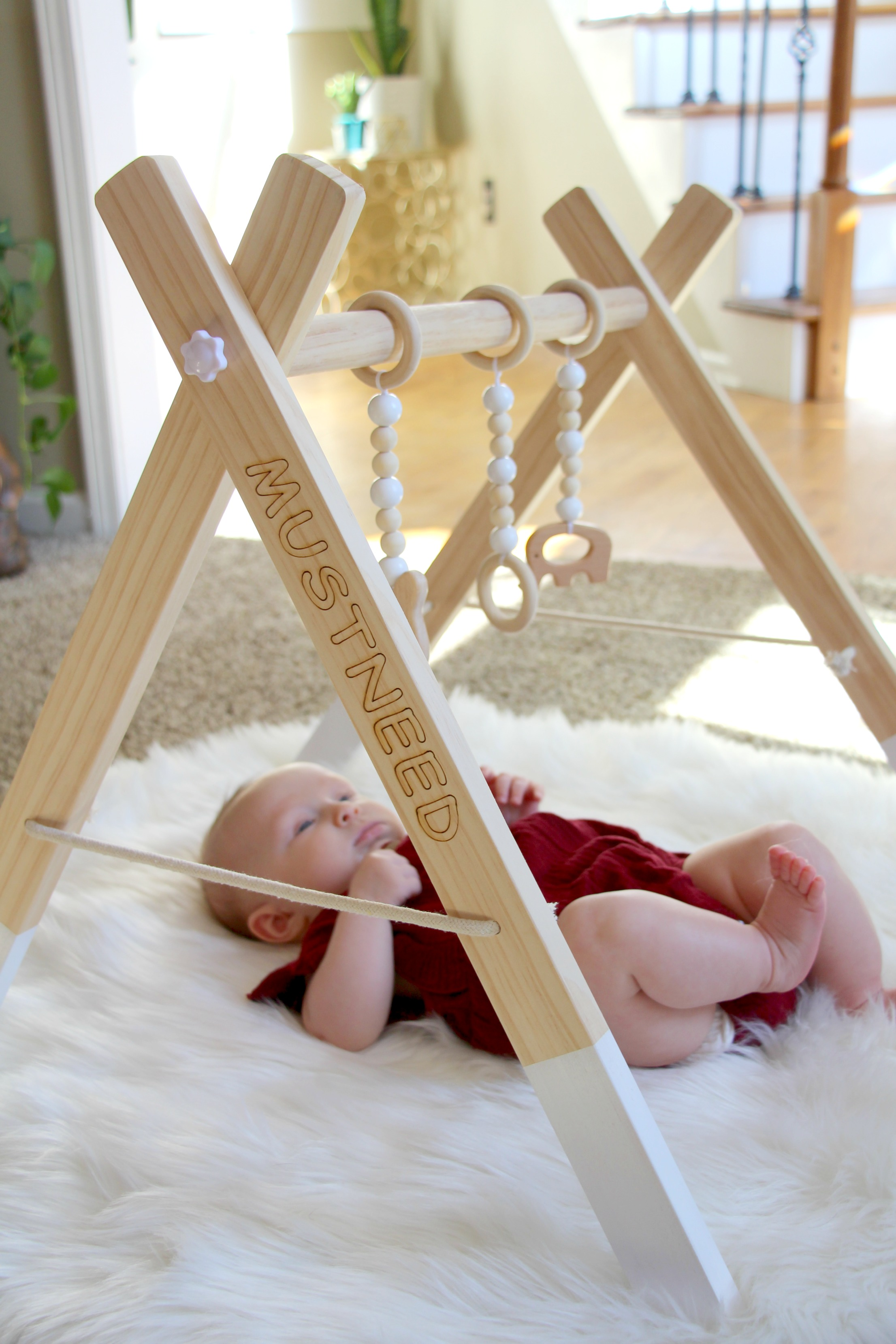 Why Babies Love The Must Need By Baby Wooden Gym