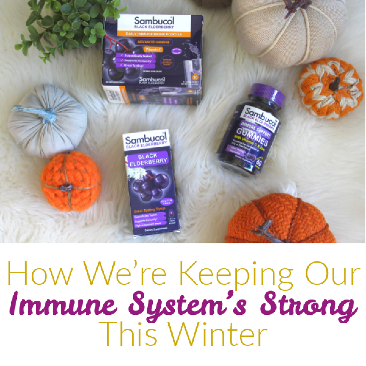 How We're Keeping Our Immune System's Strong This Winter