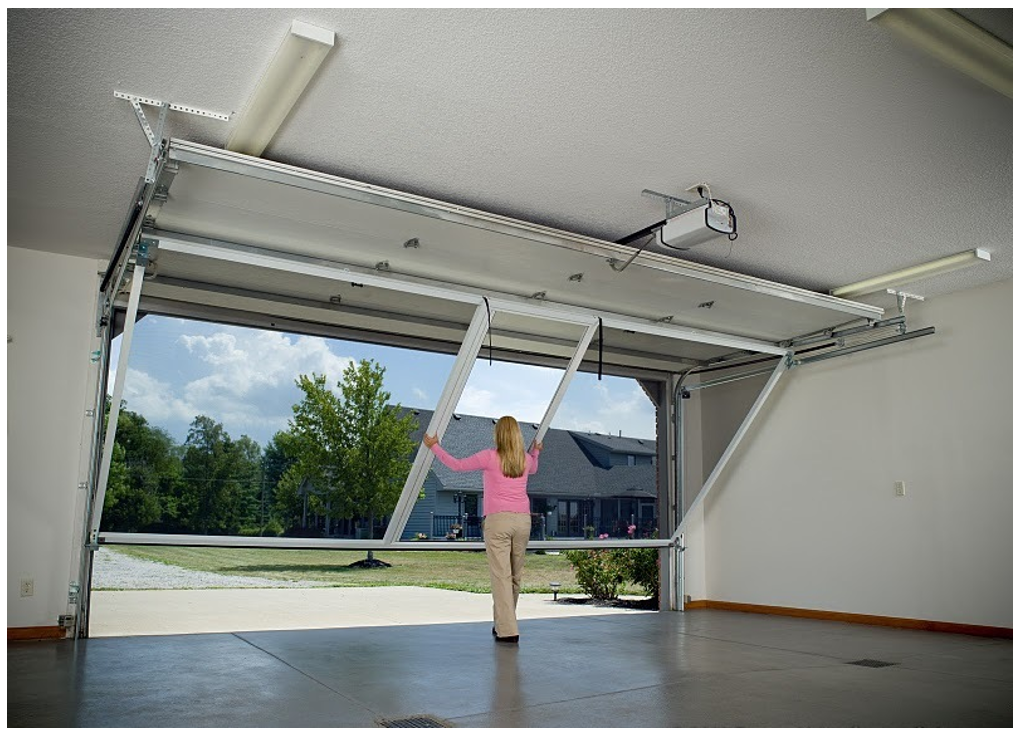 Benefits of Having Lifestyle Screens on Your Garage in OKC