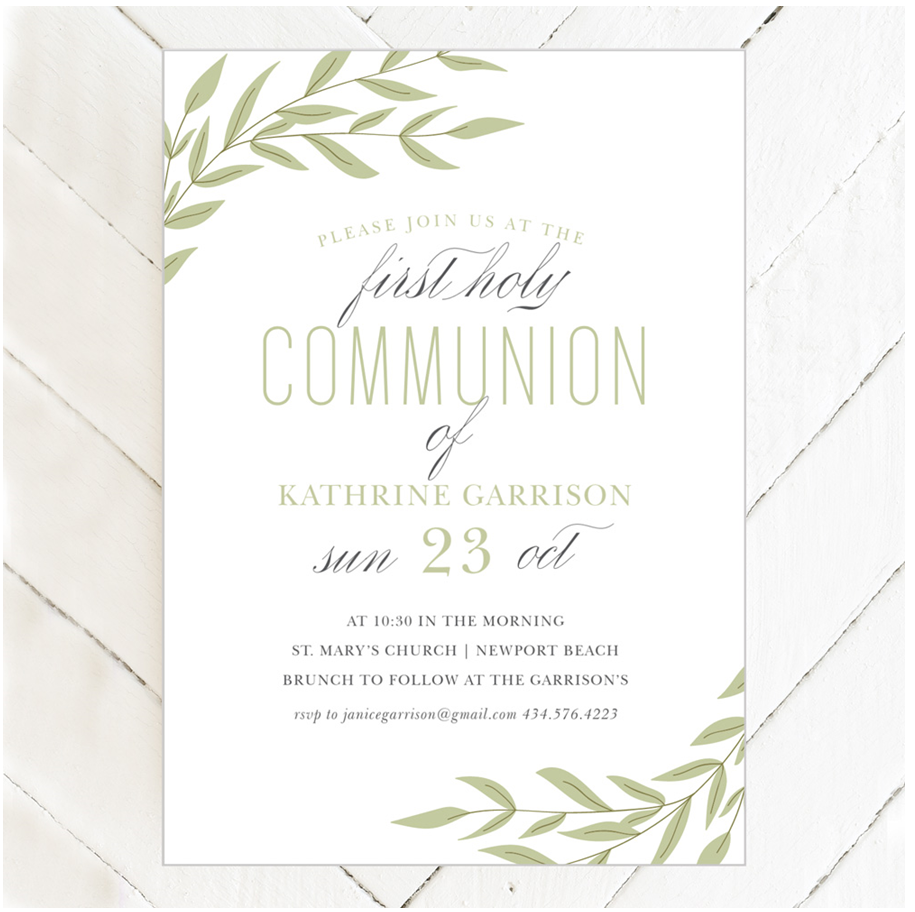 Tips For Saving Money On Your Son Or Daughter's Religious Invitations